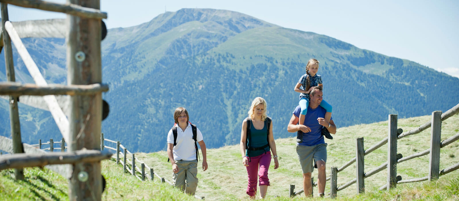Active holidays with children in and around Maranza