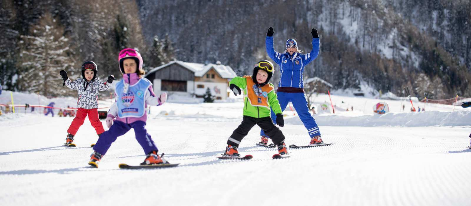 Skiing during your winter holiday in Maranza