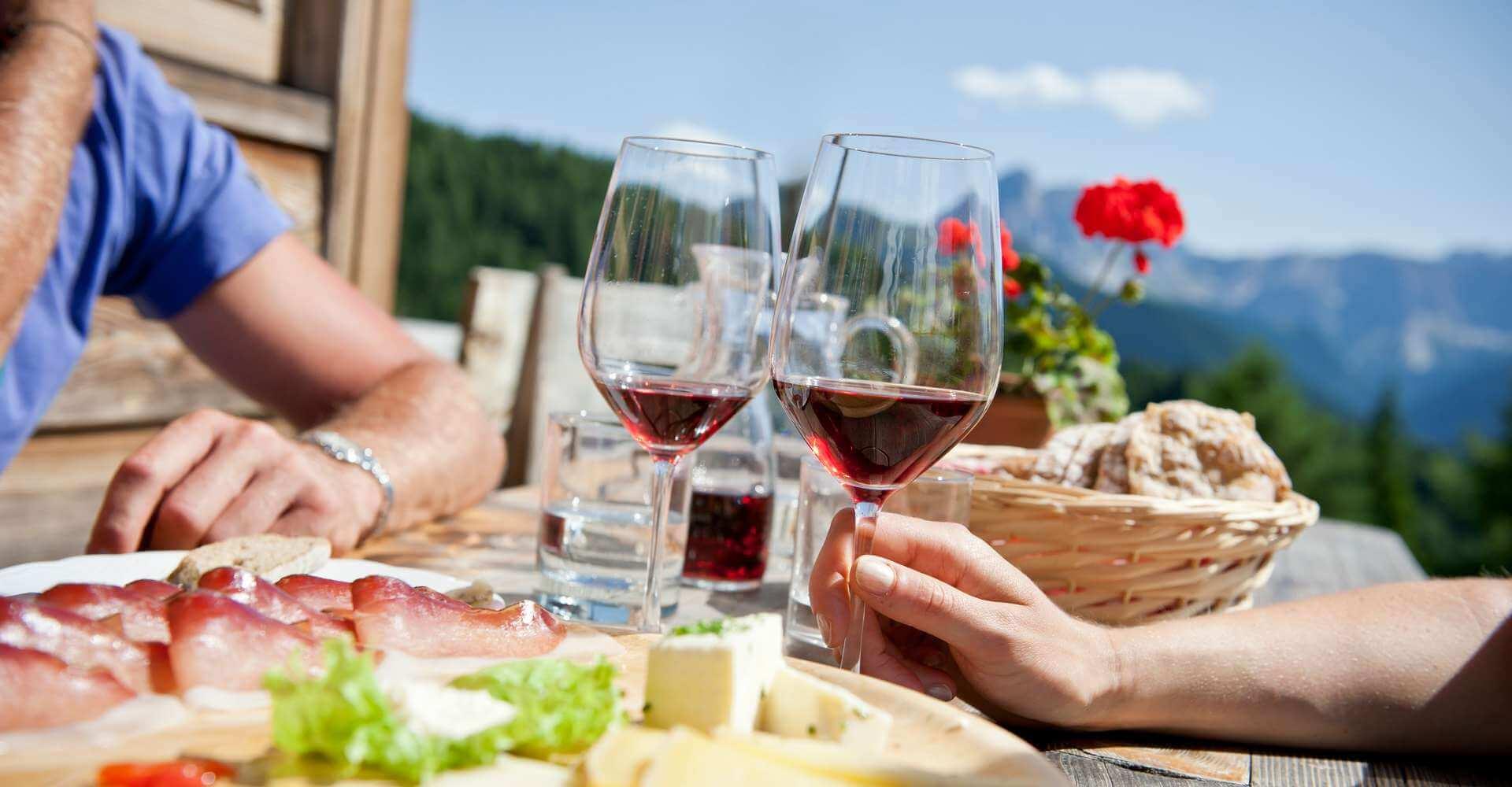 Sommerurlaub Meransen Südtirol