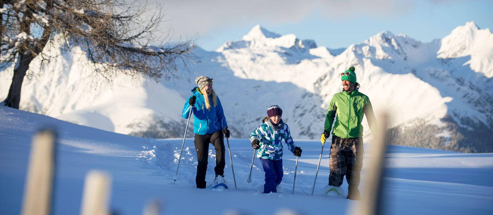Hiking or skiing in the nearby mountain regions Gitschberg and Val Giovo