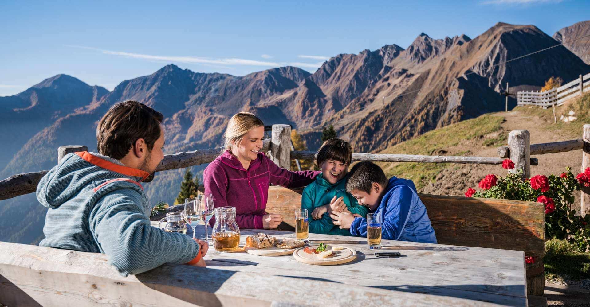Urlaub in Meransen Südtirol