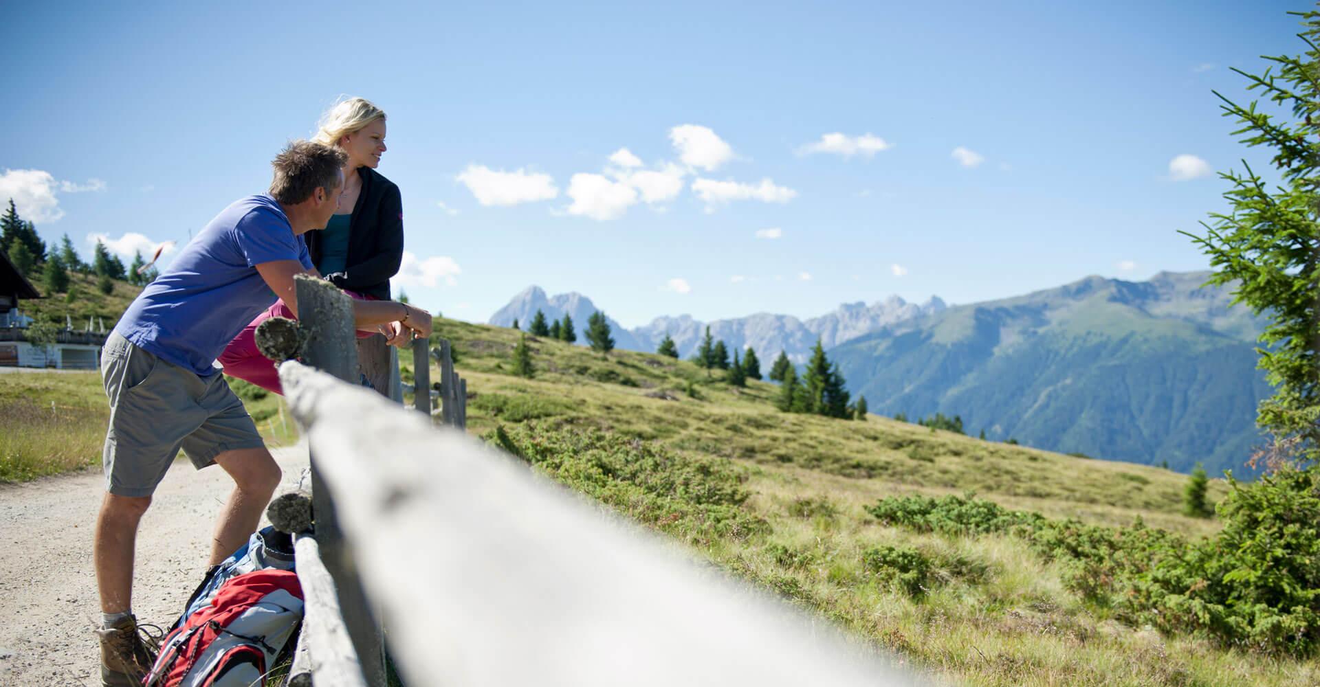 Wanderurlaub Gitschberg Jochtal Südtirol