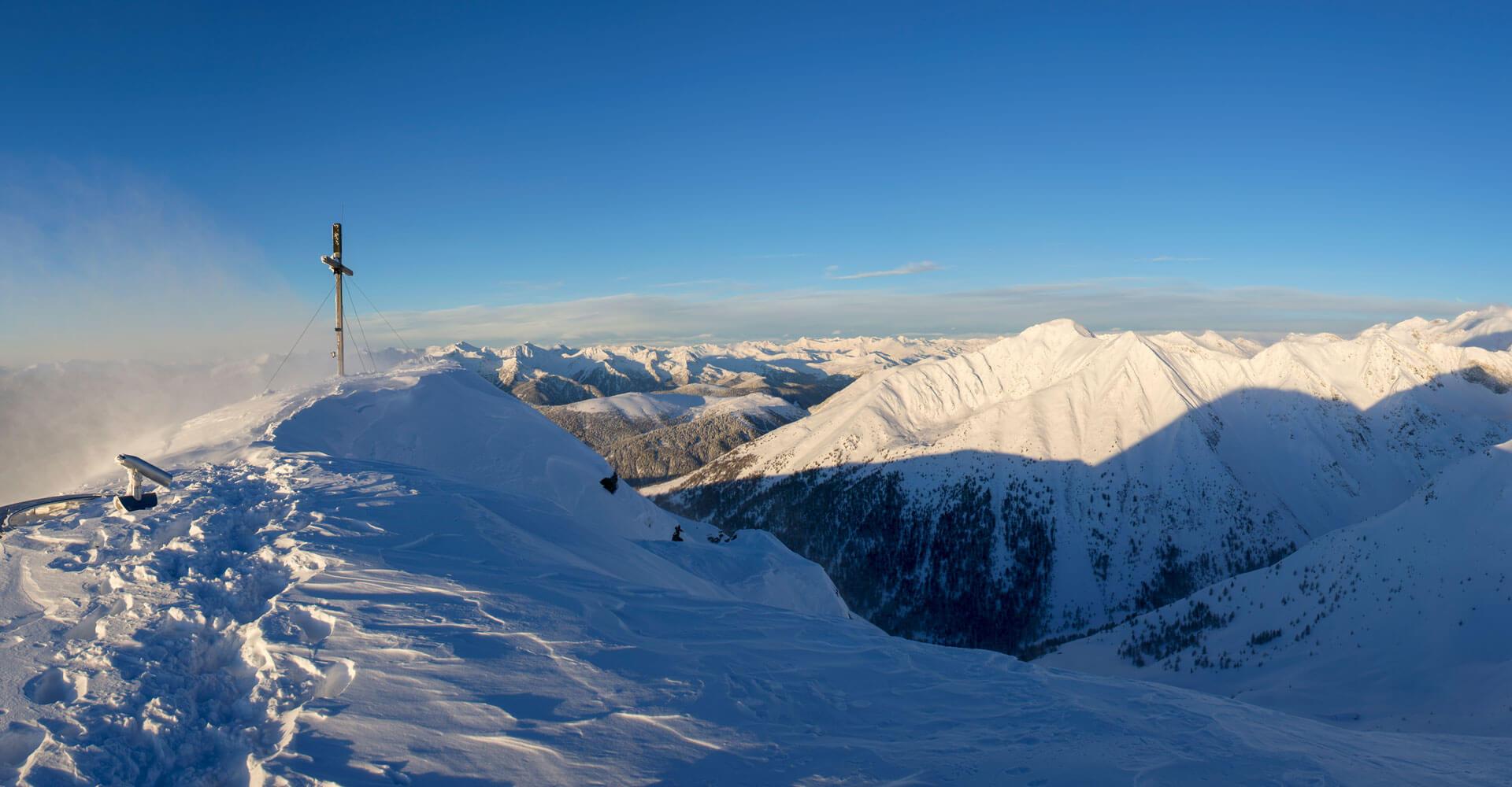 Winterurlaub Meransen Südtirol
